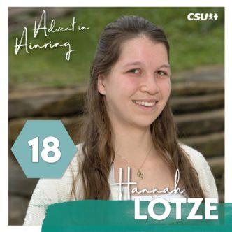 Adventkalender - Hannah Lotze -332-