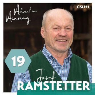 Adventkalender - Josef Ramstetter