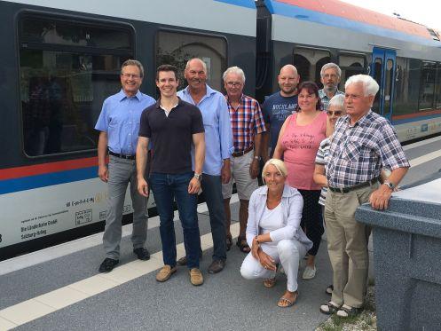 CSU in Aktion - Bahnhof Hammerau -497-