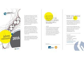 Jahresprogramm Kulturverein 2016-1