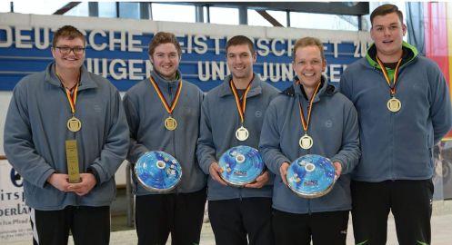 U23 Deutscher Meister 2020 Regen -497-